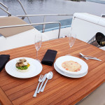 Deck Area of Fairline 42 Yacht Goa