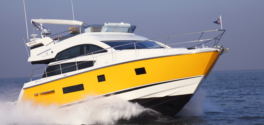 Fairline 42 Yacht at Goa