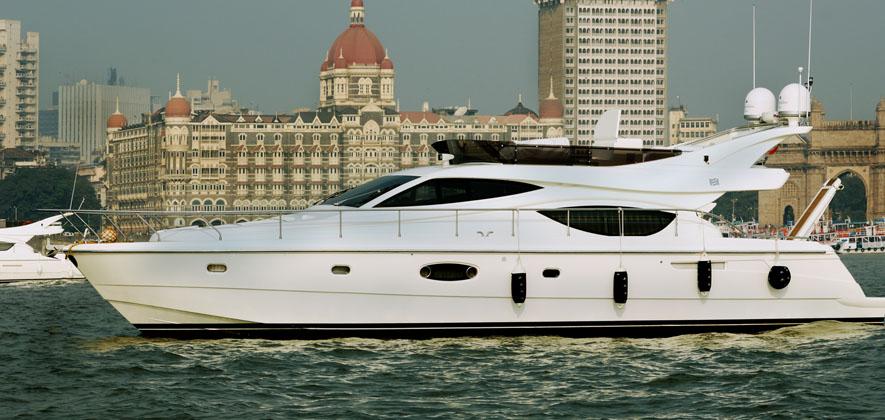 Ferretti 550 Yacht in Mumbai
