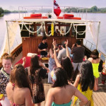 Woof Woof Party Boat at Goa