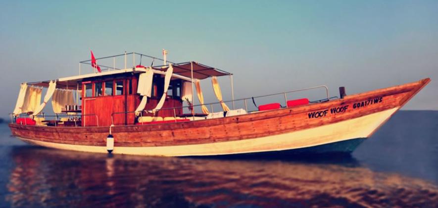 Woof Woof Boat at Goa