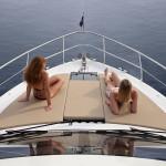 Bow Side of Fairline 42 Yacht Goa